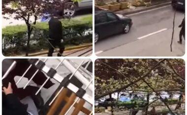Ky është momenti kur Nikolla plagos punonjësin e picerisë dhe niset me thikë drejt xhamisë (VIDEO)