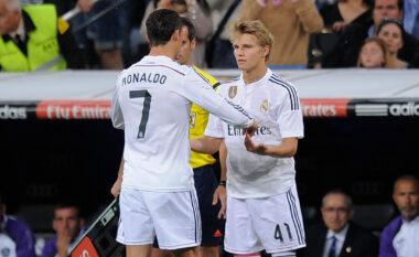 Odegaard kujton momentin kur u zëvendua me Ronaldon: Ishte e pabesueshme, do ta mbajë mend gjithë jetën