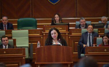 Ja ora kur deputetët do të votojnë për Vjosa Osmanin president