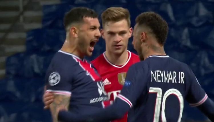 Provokimi i Neymar dhe Paredes, festojnë si të çmendur përpara syve të Kimich (VIDEO)
