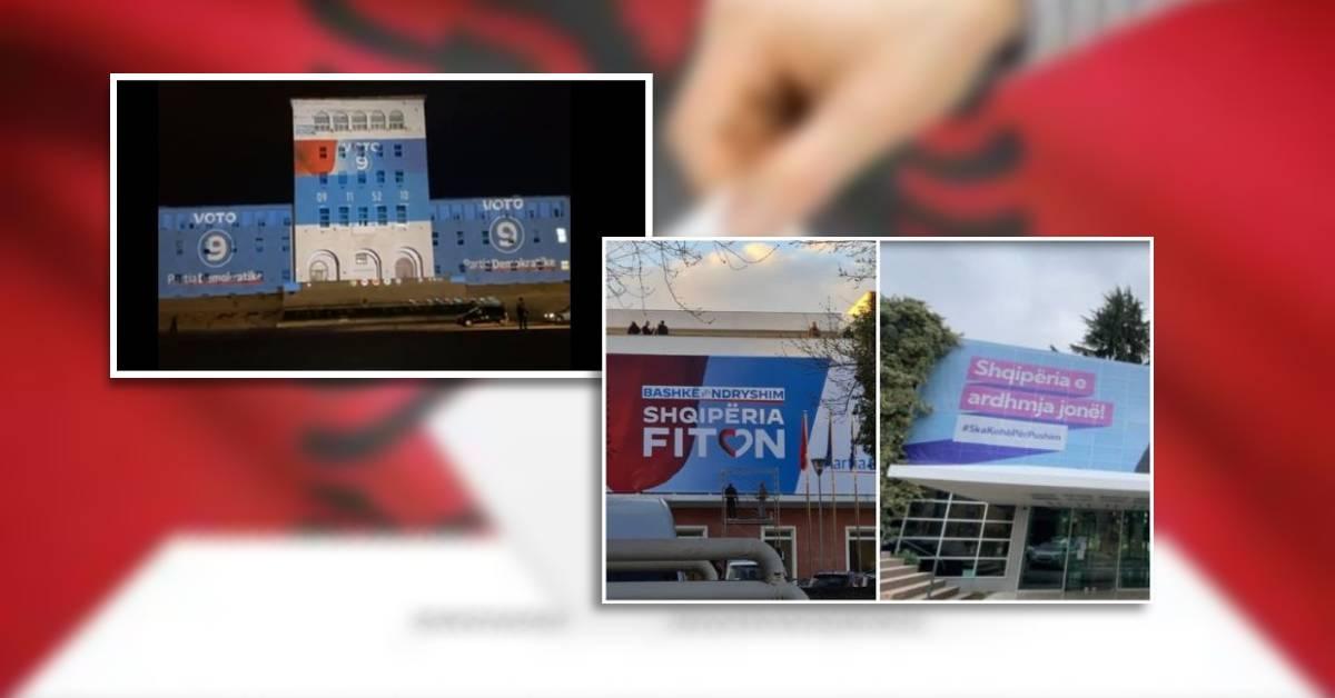 KQZ thirrje PS-së dhe PD-së:Hiqni banderolat dhe posterat nga godinat publike