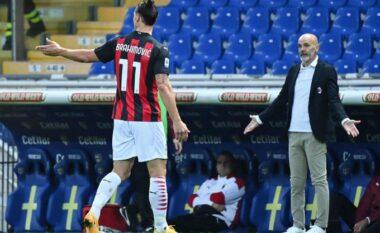Situata me Ibrahimovic, Pioli: Zlatan më tregoi çfarë i kishte thënë gjyqtarit