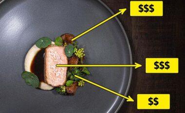 6 arsyet përse restorantet e shtrenjtë shërbejnë në porcione të vogla (FOTO LAJM)