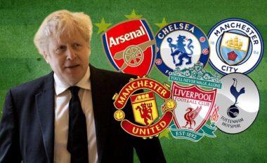 """Boris Johnson """"hap derën"""" për përjashtimin e 6 klubeve nga Premier League"""