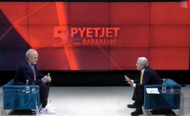 Ndodh sërish, Rama lë në mes intervistën me Babaramon: Mbylle këtu, kjo i vuri pikën (VIDEO)
