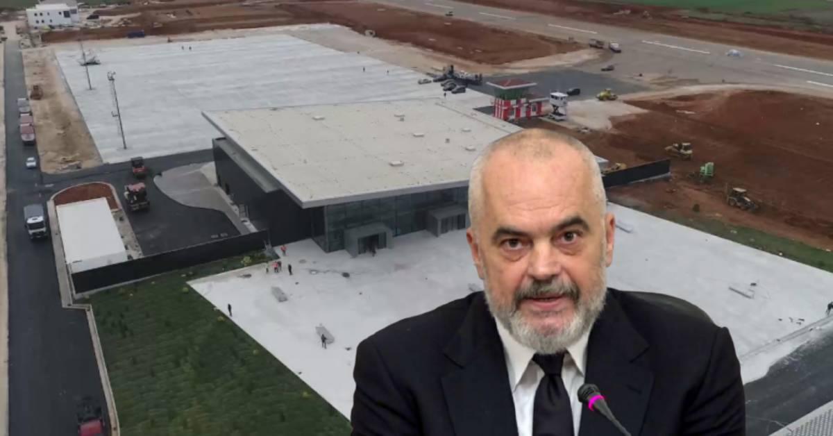 """""""Çunat e Londrës"""" inagurojnë aeroportin e Kukësit, por ndalojnë në Rinas: Si nxitoi Rama para zgjedhjeve?"""