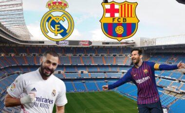 Lufta per titullin, formacionet e mundshme Real Madrid-Barcelona (FOTO LAJM)