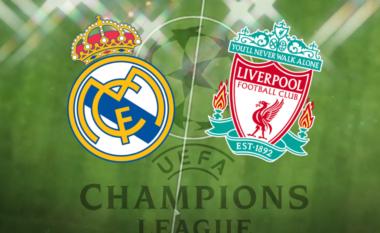CHAMPIONS/ Real Madrid – Liverpool, formacionet e mundshme dhe statistikat (FOTO LAJM)