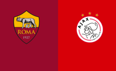 Roma-Ajax, formacionet zyrtare