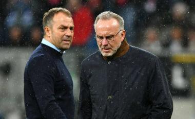 Plas te Bayern, Rummennige ngre zërin kundër Flick dhe Salihamidzic