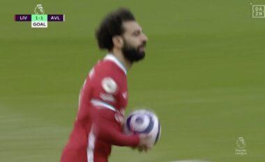 Liverpooli barazon rezultatin përballë Aston Villas (VIDEO)