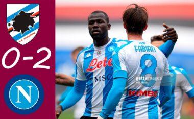 Napoli mban gjallë shpresat për Champions, triumfon ndaj Sampdorias (VIDEO)