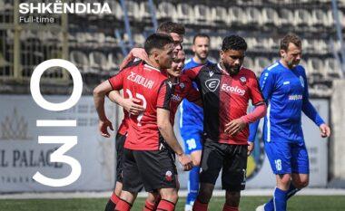 RENDITJA/ Shkëndija triumfon ndaj Renovës, fiton Shkupi