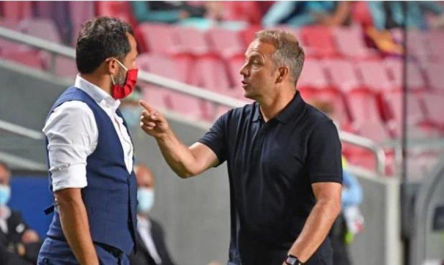 Legjendat e Bayern shqetësohen për tensionet midis Flick dhe Salihamidzic