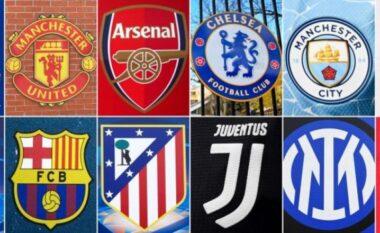 Tronditën botën e futbollit, kështu mund të dënohen klubet që u larguan nga Superliga Evropiane