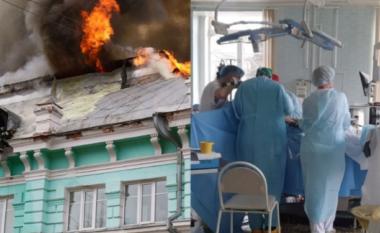 Spitali në flakë, mjekët rusë vazhdojnë operacionin në zemër