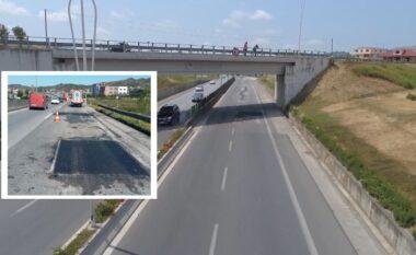 """Devijon rruga, nis """"arnimi"""" i autostradës Tiranë-Durrës"""