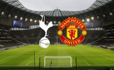 Formacionet zyrtare, Tottenham-Manchester United