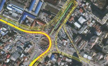 """Devijon sërish trafiku në sheshin """"Shqiponja"""", si do të hyjmë e dalin nga Tirana?"""