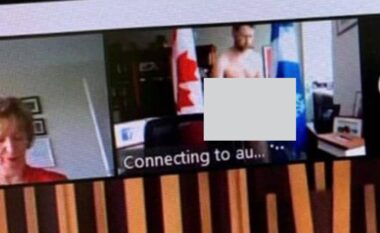 Hapi kamerën pa dashje, deputeti kanadez turpërohet gjatë mbledhjes