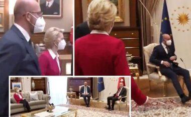 Erdogani e la në këmbë, reagon Von der Leyen: U ndjeva e lënduar edhe vetëm, ndodhi sepse unë jam grua (FOTO LAJM)