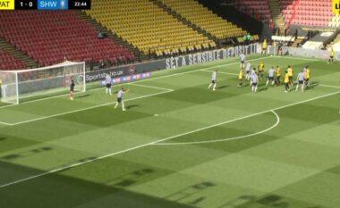 E rrallë: Watford i habit të gjithë me këtë goditje nga këndi (VIDEO)