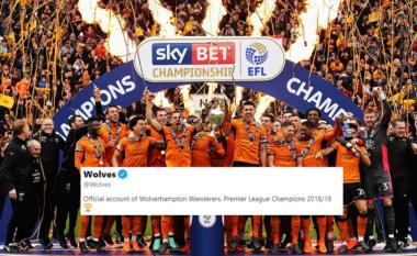 Wolves i merr titullin kampion të Premierligës Manchester City-t (FOTO LAJM)