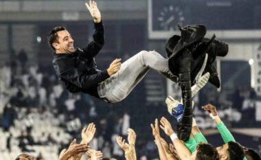 Xavi mbret në Katar, shpall AL-Sadd-in kampion me rekorde të frikshme