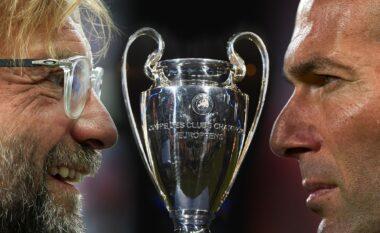 Formacioni i mundshëm i Realit kundër Liverpool,  Zidane po planifikon ndryshime