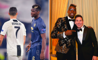 Messi apo Ronaldo? Paul Pogba befason me përgjigjen (FOTO LAJM)