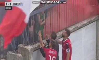 Ballistët e Tetovës janë të çmendur, shihni çfarë bëjnë në stadium kur nuk lejohen tifozët (VIDEO)