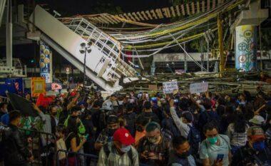 28 persona humbën jetë nga shembja e urës së metrosë, shpërthejnë protestat në Meksikë