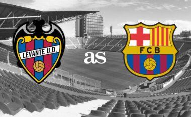 Formacionet zyrtare, Levante-Barcelona