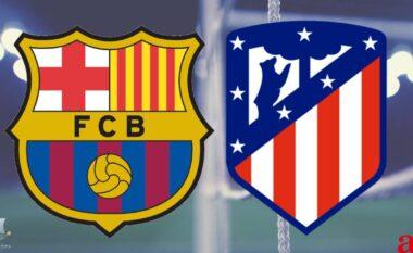Luftë për titull! Publikohen formacionet zyrtare Barcelona – Atletico Madrid