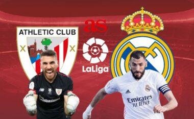 Formacionet zyrtare: Reali nuk guxon të gabojë ndaj Bilbaos