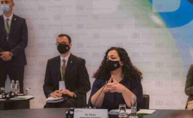 Fjalimi i plotë: Vjosa Osmani përplaset me Vuçiçin në Samitin e Brdo-brijunit në Slloveni