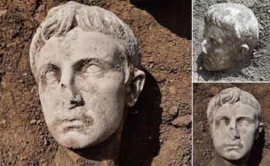 Gjendet koka prej mermeri 2,000-vjeçare e perandorit të parë të Romës