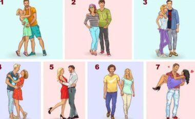 Zgjidh çiftin dhe zbulo diçka për lidhjen tënde të dashurisë