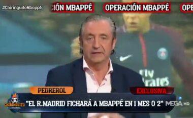 E bujshme nga TV spanjoll: Pas një ose dy muajve Mbappe do të jetë lojtar i Real Madrid (VIDEO)