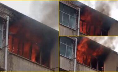 Përfshihet nga flakët pallati 12 katësh, evakuohen me urgjencë banorët