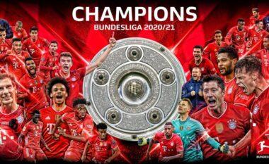 Skuadrat që kanë fituar Bundesligën, kryeson frikshëm Bayern (VIDEO)