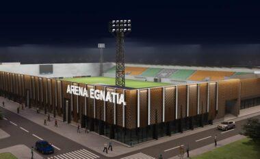 Merr formë stadiumi modern i Egnatias (FOTO LAJM)