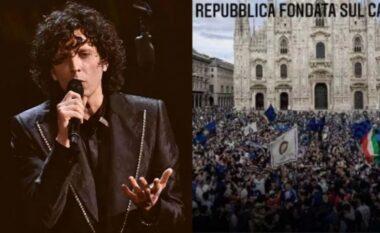 """Ermal Meta shkakton """"tërmet"""" në Itali me komentet për festën e Interit (VIDEO)"""