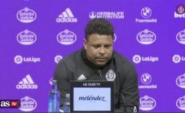 Iu rrëzua Valladolid nga La Liga, shpërthen Fenomeni (VIDEO)