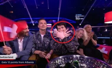 Bëri shqiponjën në mes të Eurovisionit, Gjon's Tears reagon pas sulmeve të serbëve