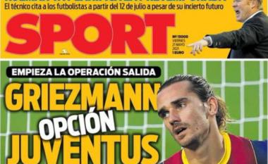 E bujshme nga Spanja, Juventus synon Griezmann në rast lamtumire të CR7 (FOTO LAJM)