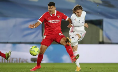 Reali beson te përmbysja, barazon shifrat ndaj Sevillas (VIDEO)