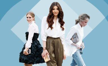 Këmisha e bardhë, 5 mënyra për ta veshur këtë javë (FOTO LAJM)