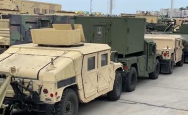 Defender 21/ Dalin pamjet, si Durrësi është blinduar nga forcat amerikane (VIDEO)