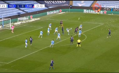 Man City me një këmbë në finale, mbrëmje magjike për Mahrez (VIDEO)